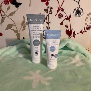 🐮 MOOGOO 🐮 Skin Milk Udder Cream 120g & BONUS 50g full cream moisturiser $10